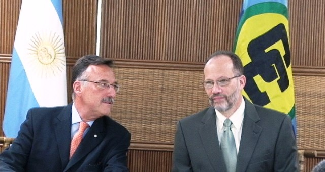 Argentina's Ambassador hopes to strengthen ties with CARICOM