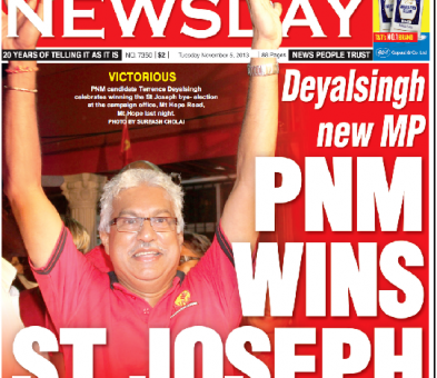 Opposition wins Trinidad by-election