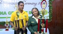Johnson; Ogle named Cricketers of the year