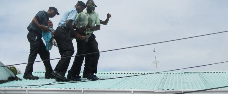 Update: Alleged buggered 16 – year – old climbs onto roof lamenting injustice