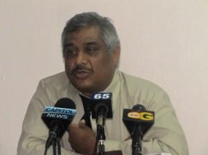 Commissioner General of GRA, Khurshid Sattaur