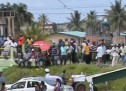 Essequibo Rice Farmers continue protest action of payments