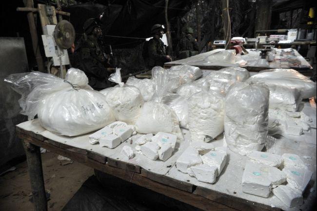 Cocaine war looms