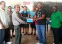 Igloo Ice Cream donates footwear to Wakapoa students