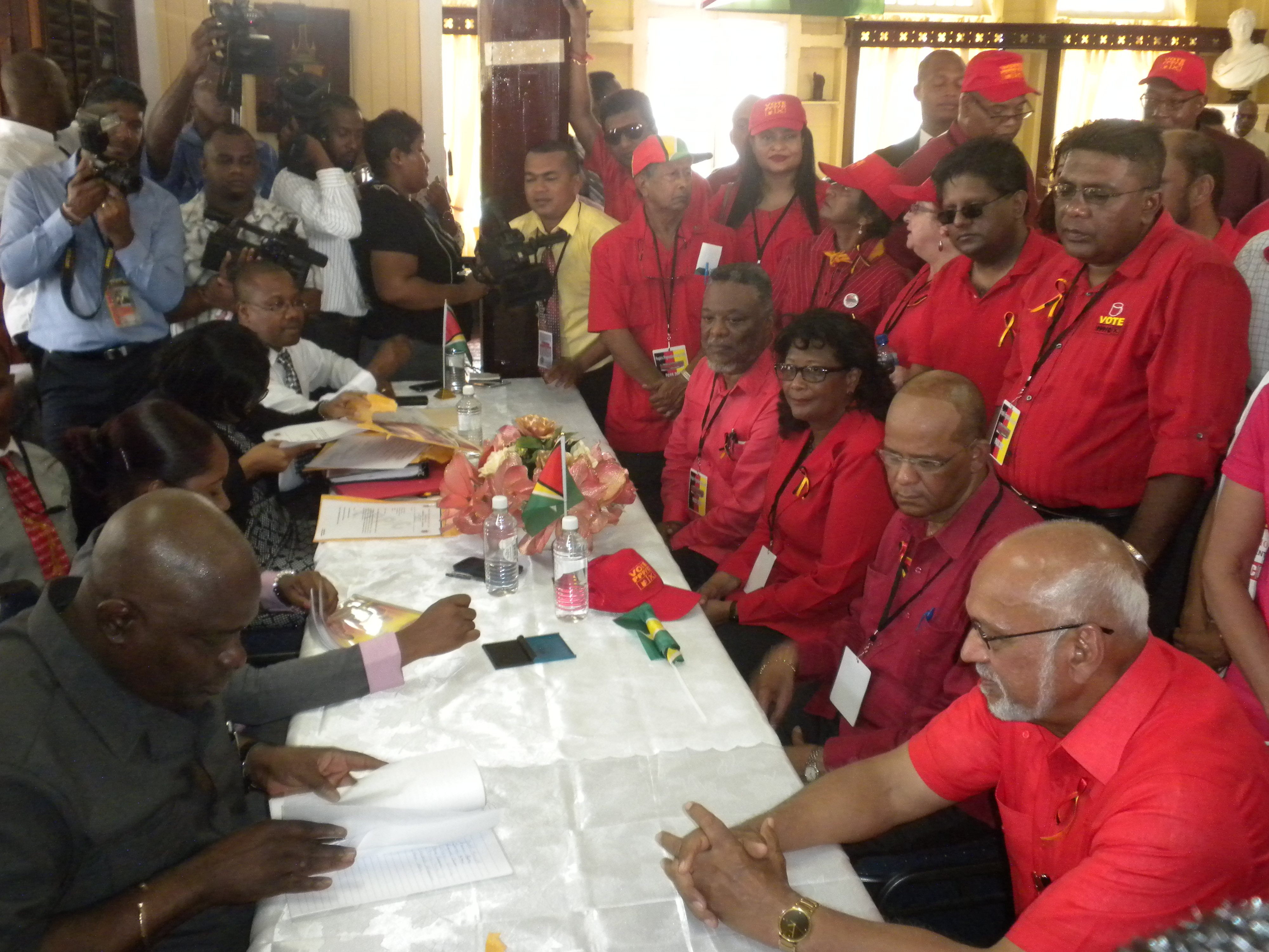 of Candidates to GECOM  U Afc Urges Gecom To Declare Winner So Nation 39s Business Can