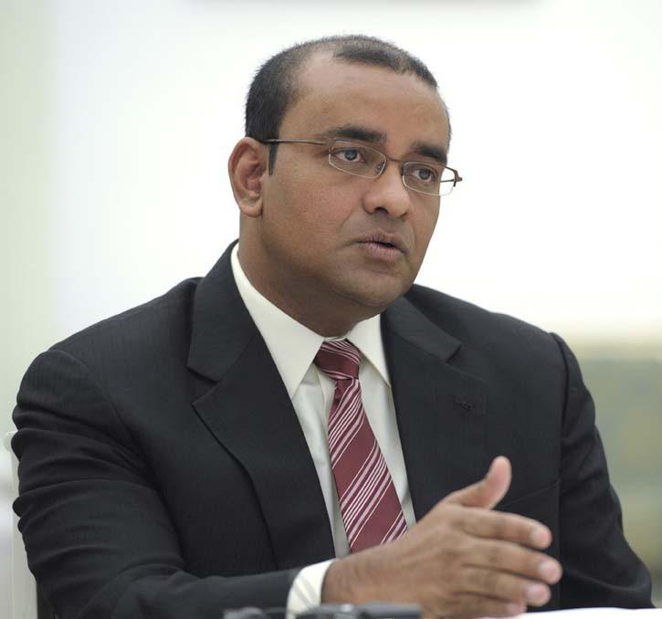 Opposition Leader, Dr Bharrat Jagdeo