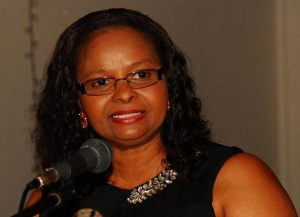 Minister of Social Protection Volda Lawrence