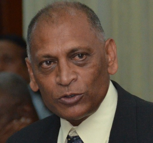 Former Minister of Health, Dr Leslie Ramsammy