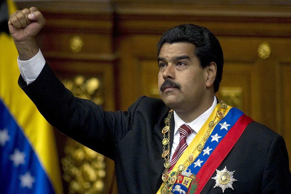 Venezuela's President Nicolas Maduro