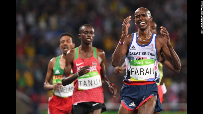 Mo Farah (Photo: Getty Images)