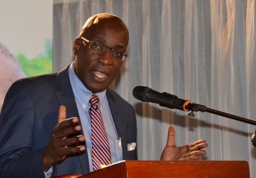 Minister of Education, Youth and Information, Ruel Reid