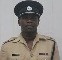 Commander of Police 'B' Division, Ian Amsterdam is leading the probe