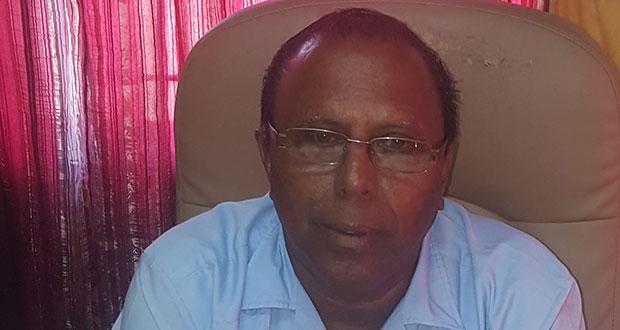 Former AFC Member, Veerasammy Ramayya
