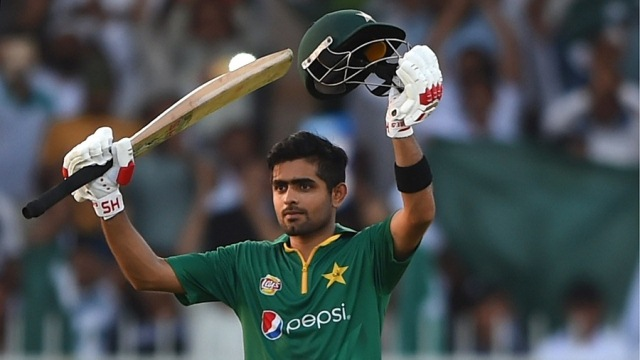 Babar Azam stroked eight fours and three sixes in his 120 (Photo: Getty Images)