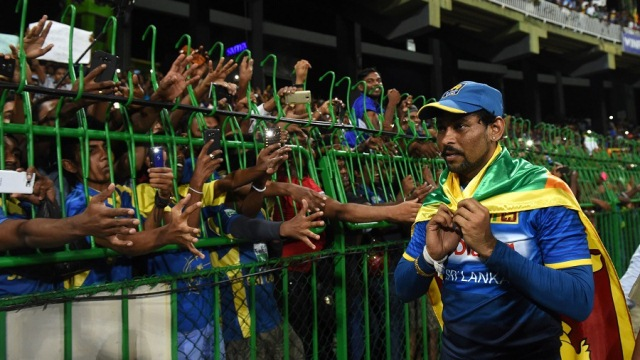 Tillakaratne Dilshan's international career finished with a loss(AFP photo)