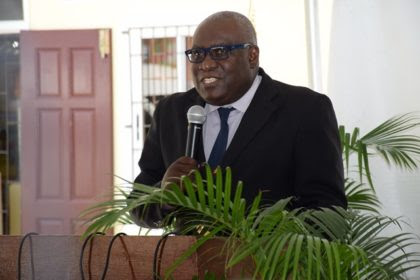 Chief Education Officer (acting) Ministry of Education, Marcel Hutson