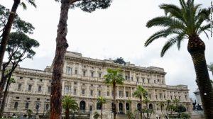 Italy's Supreme Court, La Corte di Cassazione in Rome, has overturned a man's three-month sentence.