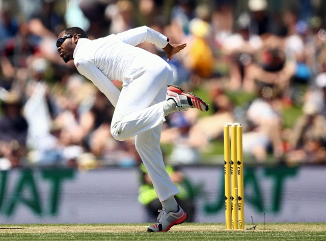 omel Warrican has so far taken 11 wickets in four Tests for West Indies(Photo: Getty Images)