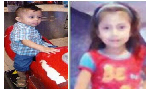 Dead: 10-month-old Marvin Miguel and 7-year-old Tina Miguel