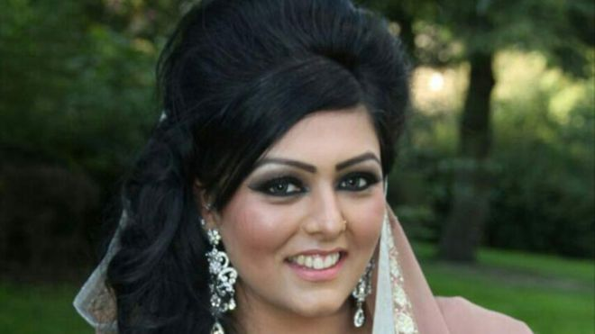 Samia Shahid, from Bradford, died while visiting relatives in Pandori in northern Punjab (Family/  BBC photo)