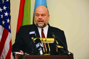 US Ambassador to Guyana Perry Holloway