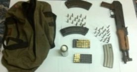 Citizen leads police to house with AK 47, ammo cache