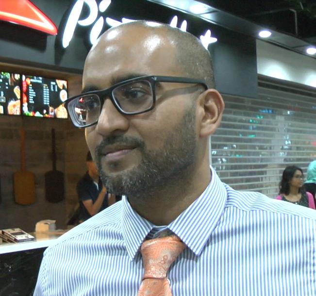 Marketing Director of Pizza Hut, Navin Singh