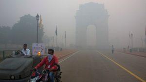 Authorities issued pollution warnings in Delhi ahead of Diwali (AP photo)