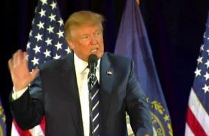"Trump says Clinton emails saga ""bigger than Watergate"""