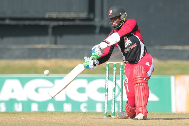 File photo - Kyle Hope hit fours sixes and ten fours in his maiden List A century(Photo: WICB Media/Ashley Allen)