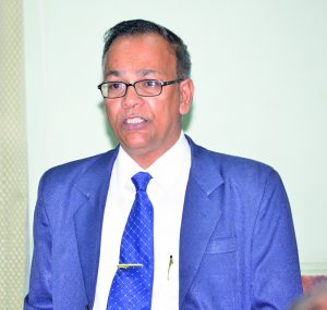 Auditor General, Deodat Sharma