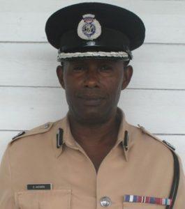 """Police """"A"""" Division Commander, Clifton Hicken"""