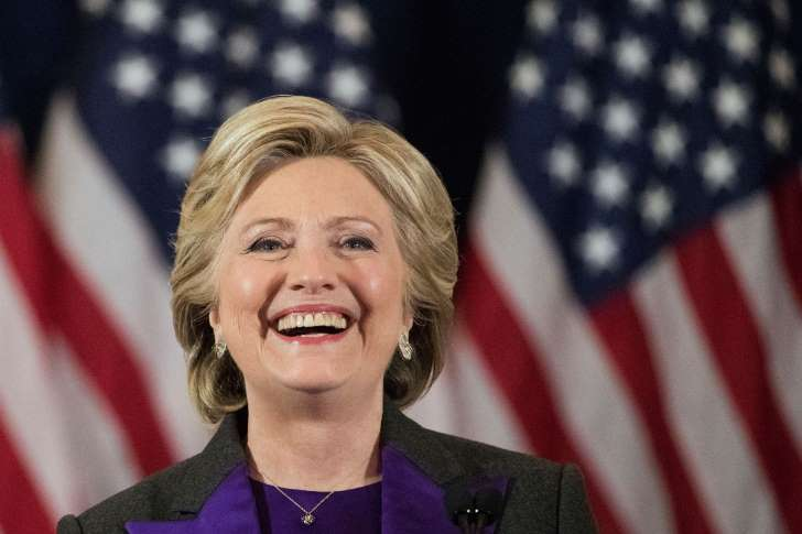 © The Associated Press FILE - In this Nov. 9, 2016 file photo, Democratic presidential candidate Hillary Clinton speaks in New York, where she conceded her defeat to Republican Donald Trump after the hard-fought presidential election