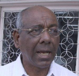 Former Speaker of the National Assembly Ralph Ramkarran