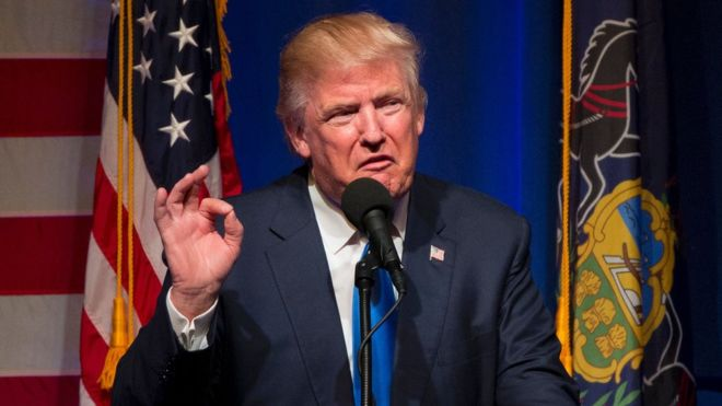 """Donald Trump called Obamacare """"a total disaster"""" during the campaign (AFP photo)"""