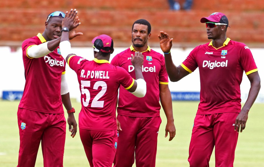 West Indies are currently ranked ninth, but are just one point behind Pakistan, which heightens the importance of a win against Sri Lanka (AFP photo)