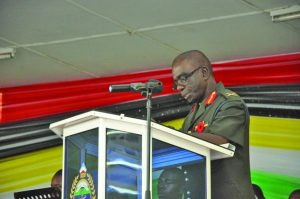 Army Chief of Staff, Brigadier George Lewis