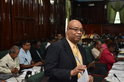 Mover of the motion, opposition parliamentarian, Juan Edghill