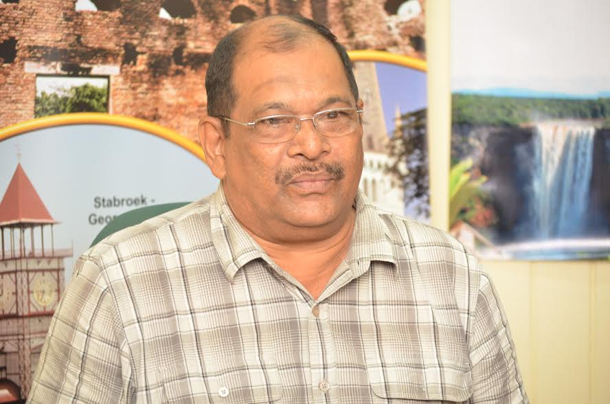 Coordinator of the South Rupununi Safari, Frank Singh at the launch of the fourth edition