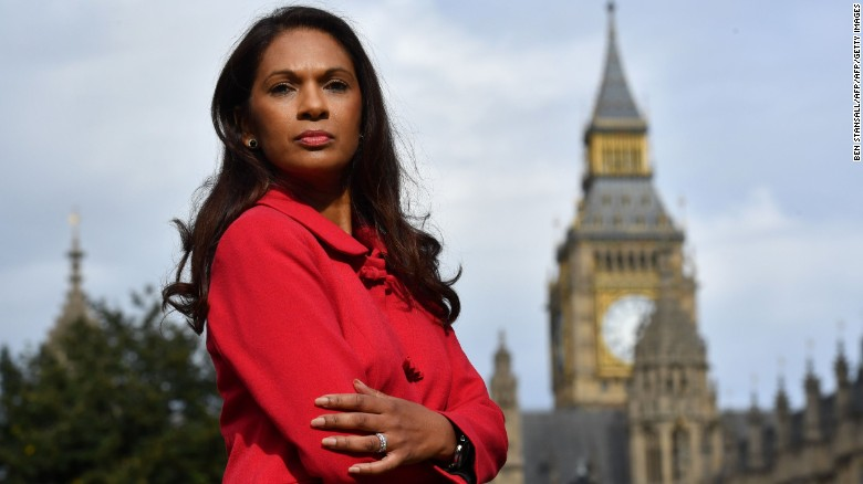 Guyana-born Gina Miller was the chief claimant in the case against the UK government in London. (Photo: BBC/ Getty images)