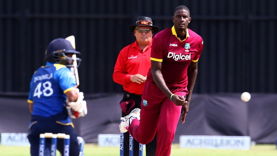 Jason Holder's swing led the way for West Indies in Harare © AFP