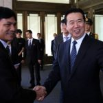 Chinese Vice Minister of Public Security Meng Hongwei was elected at Interpol's general assembly meeting (Reuters)