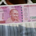 New 2,000 rupee denomination notes were introduced on Thursday (AFP)