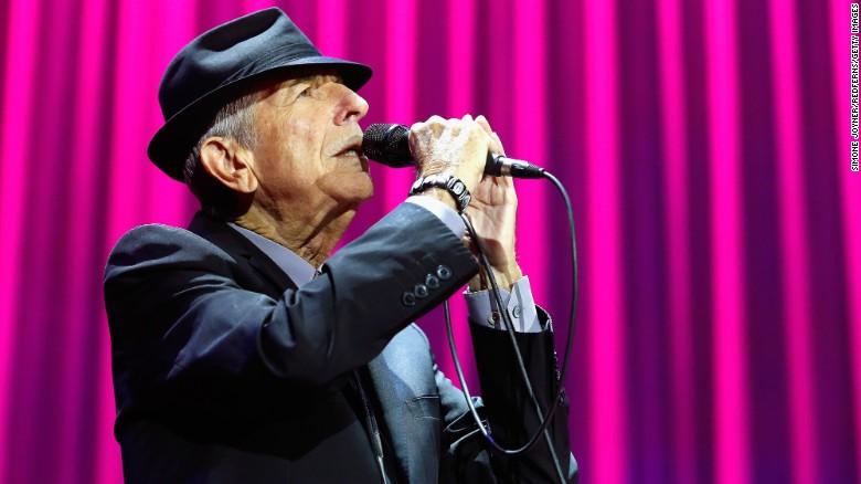 The legendary Leonard Cohen