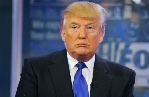 US Republican Presidential Candidate, Donald Trump