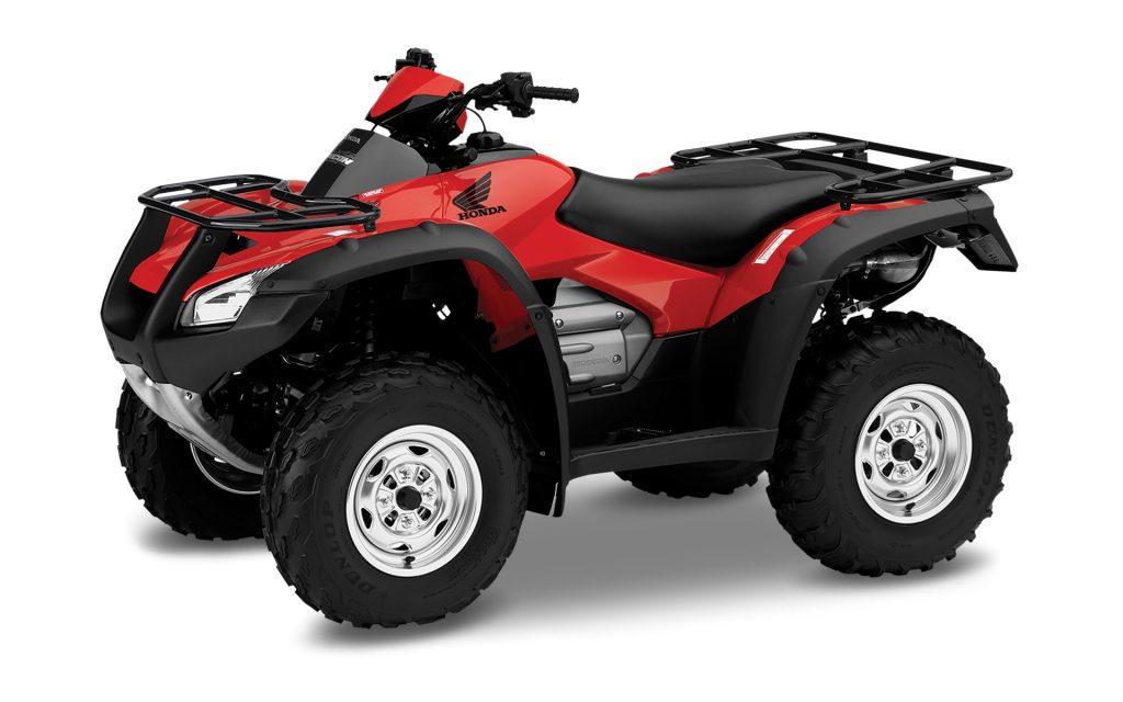 An All Terrain Vehicle (ATV)
