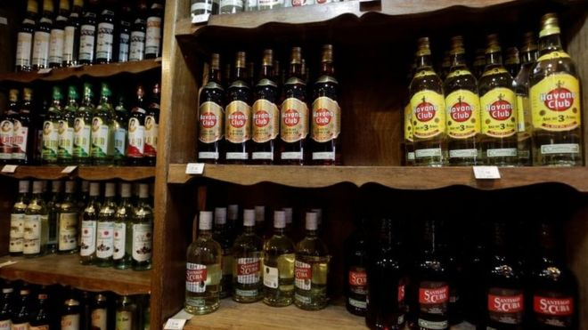 Cuban rum is a popular tipple in the Czech Republic (Reuters Image)