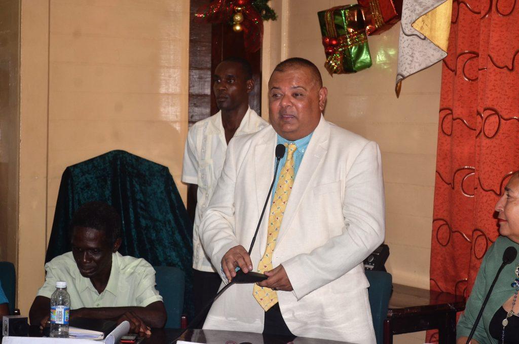 Lionel Jaikarran was elected Deputy Mayor
