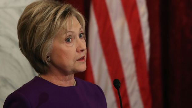 """Hillary Clinton said Russia's actions were """"an attack against our country""""(Getty Images)"""
