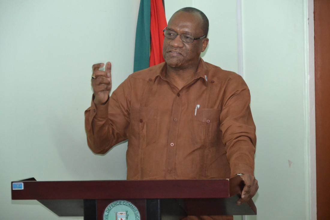 Minister of State, Joe Harmon